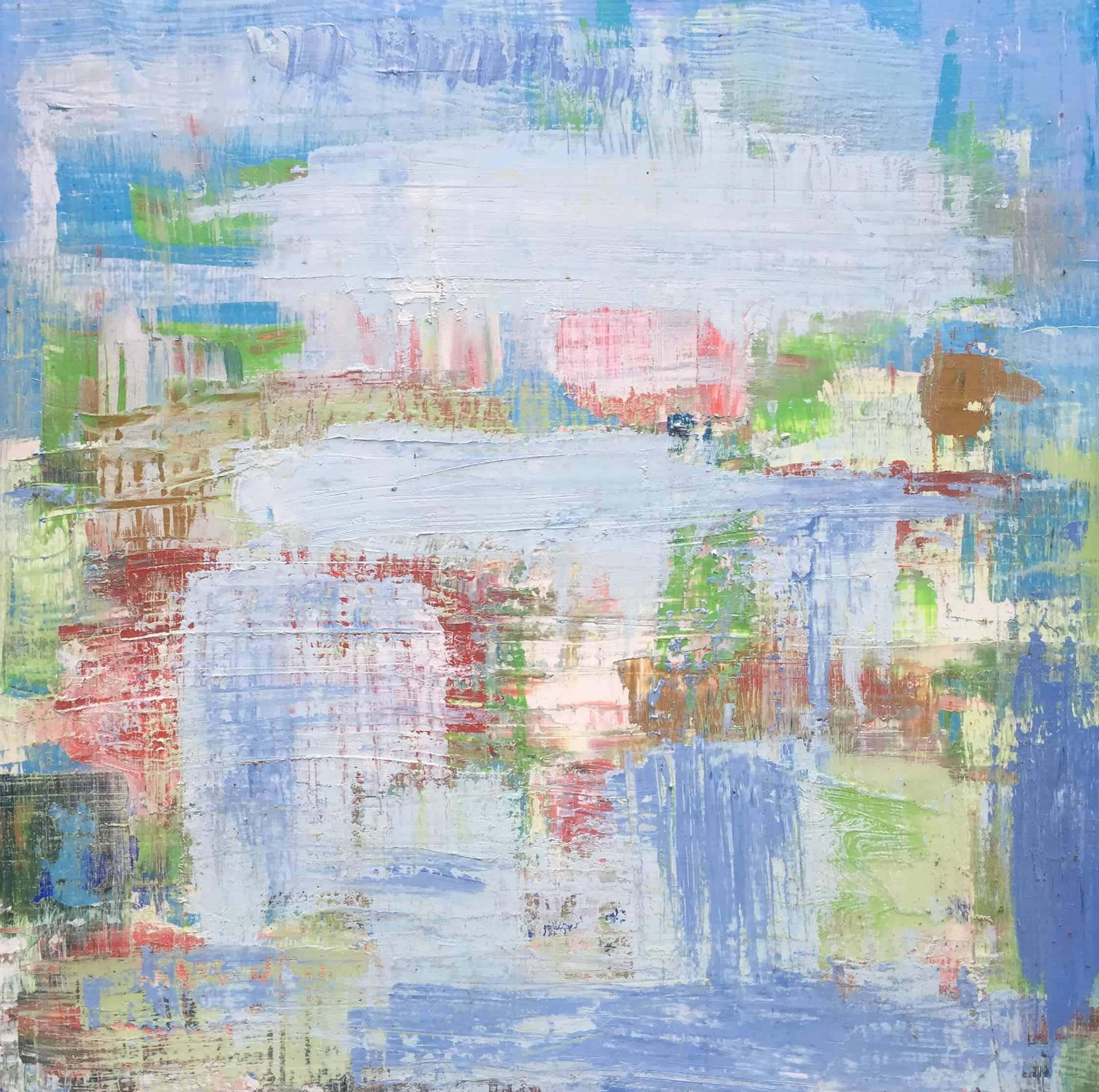 Blue Triptych #1